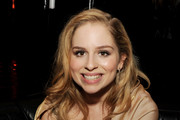 """Actress Allie Grant poses at the after party for a screening of Tribeca Film's """"Struck By Lightning"""" at Eden on January 6, 2013 in Los Angeles, California."""