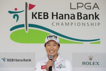 Se Ri Pak LPGA KEB-Hana Bank Championship - Press Conference