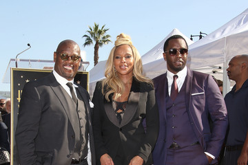 Sean Combs Mary J. Blige Is Honored With a Star on the Hollywood Walk of Fame