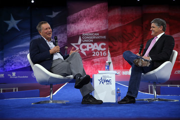Sean Hannity GOP Presidential Candidates Attend CPAC Conference in Washington DC