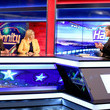 Sean Hannity Former Vice President Dick Cheney and His Daughter Liz Cheney Visit FOX News