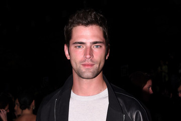 Sean O'Pry Front Row at Alexander Wang X H&M Launch