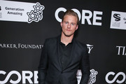 Alexander Ludwig attends the 10th Anniversary Gala Benefiting CORE hosted by Sean Penn, Bryan Lourd And Vivi Nevo at Wiltern Theatre on January 15, 2020 in Los Angeles, California.