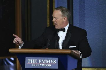 Sean Spicer 69th Annual Primetime Emmy Awards - Show