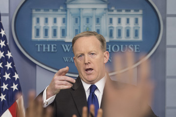 Sean Spicer Sean Spicer Holds Daily Press Briefing At White House