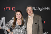 """Camryn Manheim (L) and guest attends the Season 1 Premiere Of Netflix's """" Mr. Iglesias"""" at Regal Cinemas L.A. Live on June 20, 2019 in Los Angeles, California."""