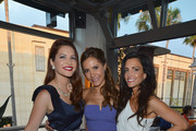 """(L-R) TV Personalities Julia Allison, Amy Laurent and Emily Morse attend the season premiere viewing party of Bravo's """"Miss Advised"""" hosted by Executive Producer Ashley Tisdale held at Planet Dailies & Mixology 101 on June 18, 2012 in Los Angeles, California."""