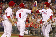 Andres Blanco and Cody Asche Photos Photo
