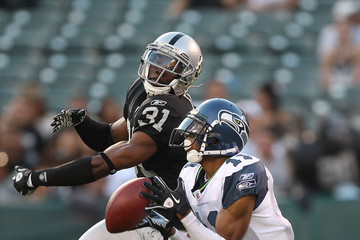 Hiram Eugene Seattle Seahawks v Oakland Raiders