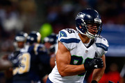 Tight end Jimmy Graham #88 of the Seattle Seahawks in action during the game against the Seattle Seahawks at Edward Jones Dome on September 13, 2015 in St Louis, Missouri.