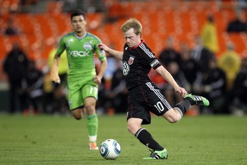 Dax McCarty Seattle Sounders FC v D.C. United