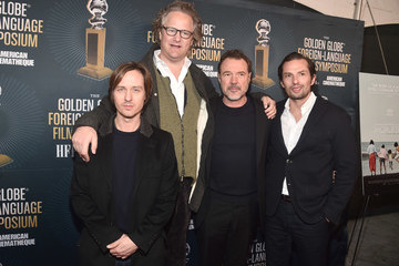 Sebastian Koch Tom Schilling HFPA And American Cinematheque Present The Golden Globe Foreign-Language Nominees Series 2019 Symposium
