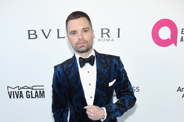 Sebastian Stan 26th Annual Elton John AIDS Foundation Academy Awards Viewing Party sponsored by Bulgari, celebrating EJAF and the 90th Academy Awards - Red Carpet