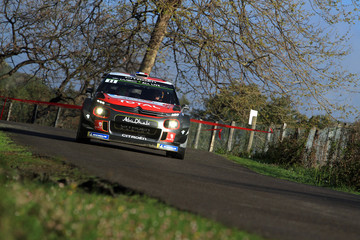 Sebastien Loeb FIA World Rally Championship France -  Shakedown