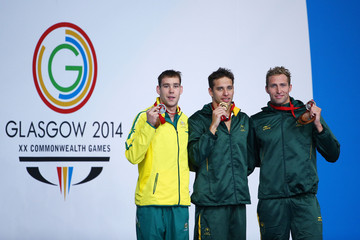 Sebastien Rousseau Grant Irvine 20th Commonwealth Games - Day 3: Swimming