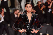 """Sara Sampaio walks the red carpet ahead of the """"Seberg"""" screening during the 76th Venice Film Festival at Sala Grande on August 30, 2019 in Venice, Italy."""