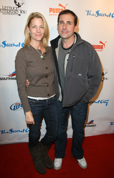 nancy carell the office. Steve Carell Nancy Carell and