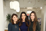 (L-R) Founder & CEO at MM.LaFleur Sarah LaFleur, host Natalie Zfat and Kathryn Minshew attend the Second Act VIP Screening powered by Lyft and MM.LaFleur on November 19, 2018 in New York City.