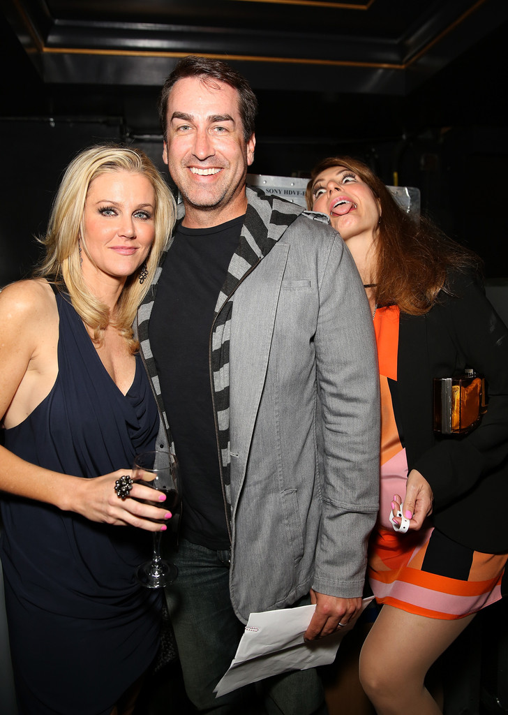Rob Riggle and Tiffany... Channing Tatum Wife