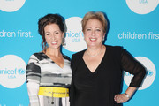 Libby Schaaf (L) and Caryl Stern attend Second Annual UNICEF Gala held at The Four Seasons on September 22, 2018 in San Francisco, California.