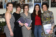 "(L-R) Actress Alice Ripley, actress Ilana Levine, author and actress Annabelle Gurwitch, actress Jessica Hecht and actress Saundra Santiago attend the ""I See You Made An Effort"" event based on the book by Annabelle Gurwitch on March 10, 2014 at Second Stage Theatre in New York City."