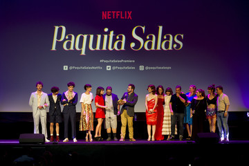 Secun de la Rosa World Premiere Of Netflix's 'Paquita Sala's Season 2