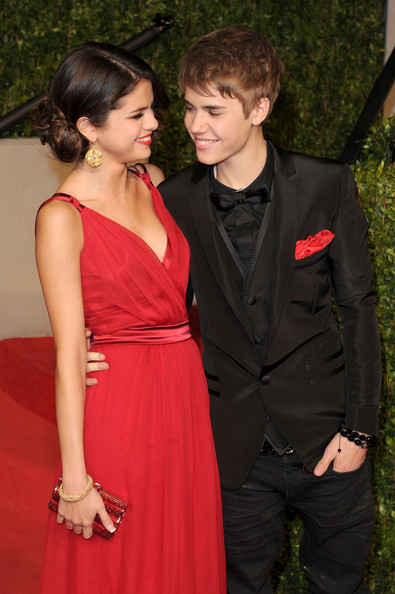 justin bieber and selena gomez vanity fair oscar party. 2011 Vanity Fair Oscar Party