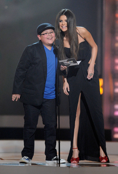 Selena Gomez Actor Rico Rodriguez and actress/singer Selena Gomez speak onstage during the 2011 Billboard Music Awards at the MGM Grand Garden Arena May 22, 2011 in Las Vegas, Nevada.