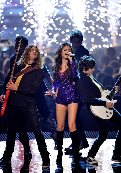 Selena Gomez MTV Europe Music Awards hostess Selena Gomez performs onstage during the MTV Europe Music Awards 2011 live show at the Odyssey Arena on November 6, 2011 in Belfast, Northern Ireland.