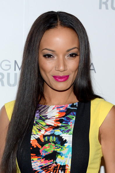 Selita Ebanks - BCBGMAXAZRIA - Backstage - Spring 2013 Mercedes-Benz Fashion Week