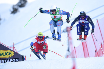 Semen Denshchikov FIS Freestyle Ski World Cup - Men's and Women's Ski Cross