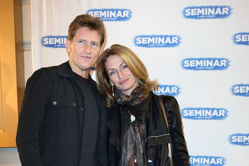 """Denis Leary Ann Lembeck """"Seminar"""" Broadway Opening Night - Arrivals & Curtain Call"""