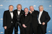 (L-R) Axel Milberg, Thomas Gottschalk, Horst Lichter, Roland Koch and Stanislaw Tillich attend the Semper Opera Ball 2014 at Semperoper on February 7, 2014 in Dresden, Germany.
