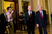 Mitch McConnell and Lamar Alexander Photos Photo
