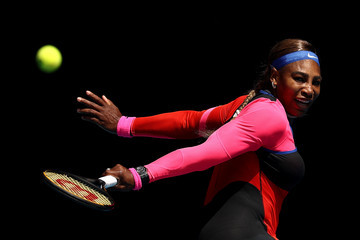 Serena Williams European Best Pictures Of The Day - February 15