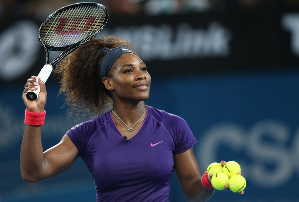 Serena Williams - Brisbane International - Day 6