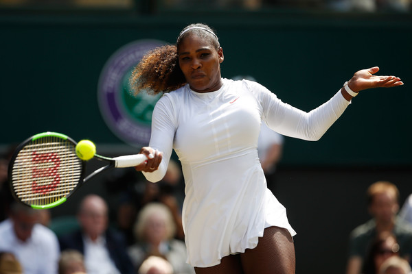 Serena Williams Powers Into Wimbledon Final