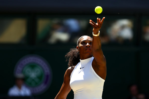 Serena Williams' Serve Was The Difference In The Wimbledon Final