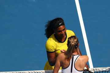 Serena Williams Maria Sharapova 2016 Australian Open - Day 9