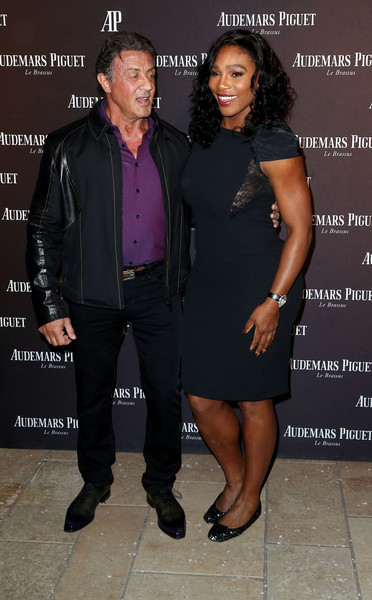 ¿Cuánto mide Sylvester Stallone? - Real height Serena+Williams+Sylvester+Stallone+Audemars+N1aB7iBRvZxl
