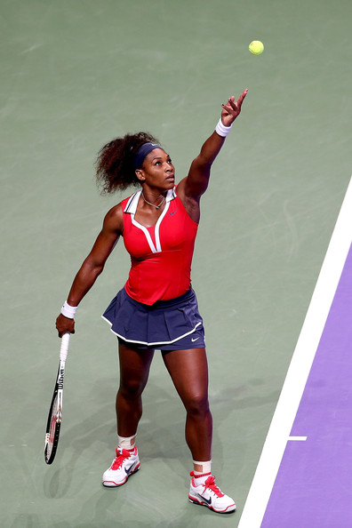 Serena Williams - TEB BNP Paribas WTA Championships - Istanbul 2012: Day Three