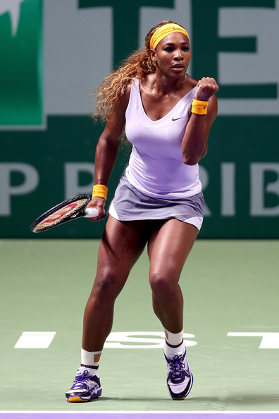 Serena Williams - TEB BNP Paribas WTA Championships: Day 1