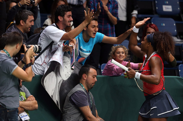 Serena Williams - TEB BNP Paribas WTA Championships - Istanbul 2012: Day Two