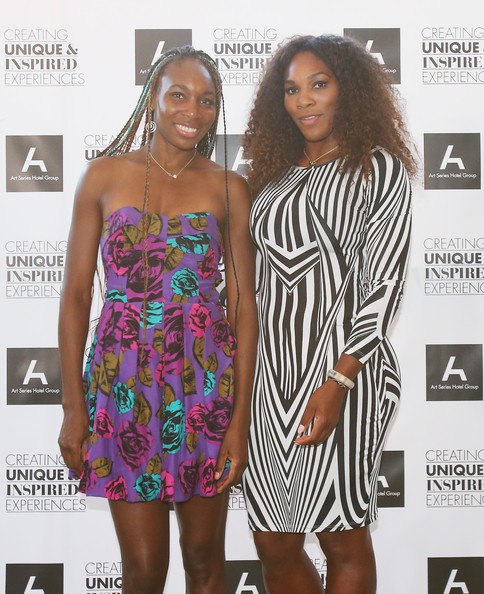Serena Williams - Williams Sisters Table Tennis Play Off