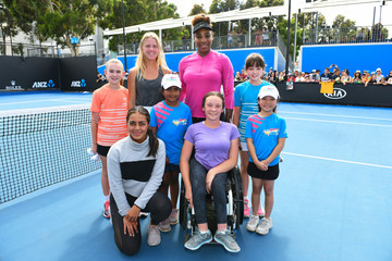 Serena Williams Off Court At The 2019 Australian Open