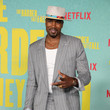"""Serge Ibaka Los Angeles Premiere Of """"The Harder They Fall"""""""