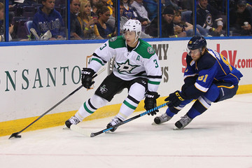 Sergei Andronov Dallas Stars v St Louis Blues