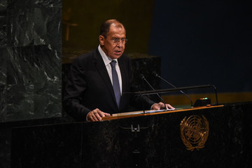 Sergei Lavrov World Leaders Address The United Nations General Assembly