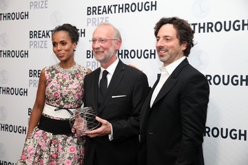 Sergey Brin 2018 Breakthrough Prize - Backstage