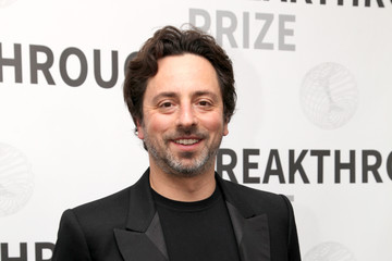 Sergey Brin 2017 Breakthrough Prize - Backstage